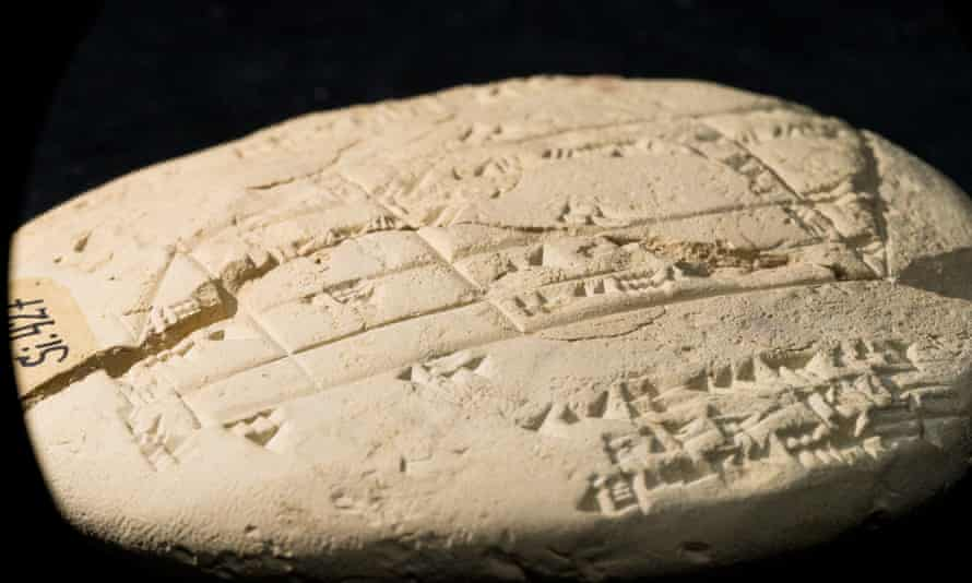 Applied geometry etched into a 3,700-year-old Babylonian clay tablet