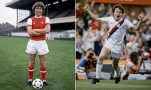 Clive Allen of Arsenal, and then Crystal Palace.