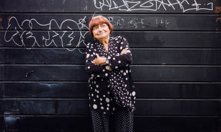 Agnès Varda in London.