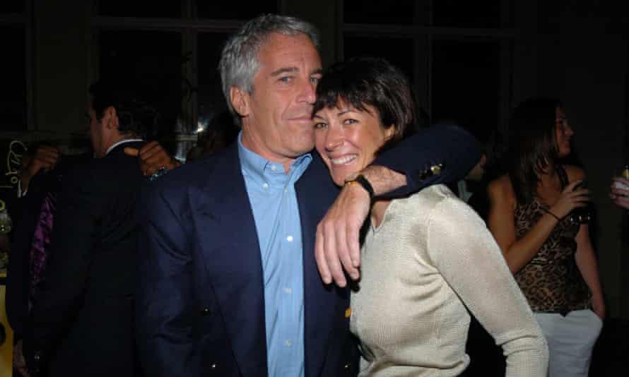 Jeffrey Epstein with Ghislaine Maxwell in 2005.