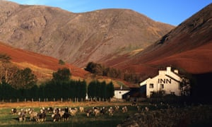 Are we there yet? The inn at Wasdale Head, Cumbria.