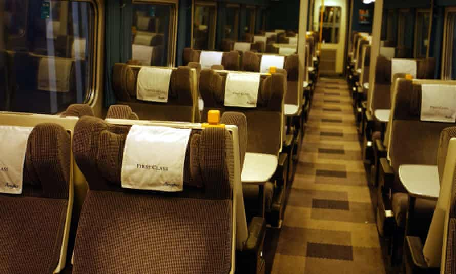 First Class train carriage