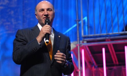 Canadian Conservative leadership contender Kevin O'Leary speaks to the Ontario Chamber of Commerce.