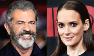 Mel Gibson and Winona Ryder.