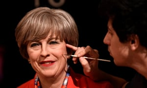 Madame Tussauds unveils their new wax model of Theresa May.