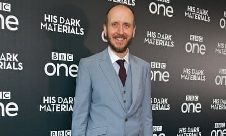 Jack Thorne at the premiere of the His Dark Materials HBO series, adapted from Philip Pullman's novels.