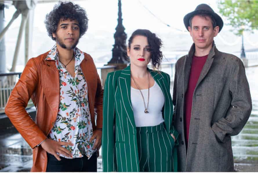 From left: Masud Milas, Sooz Kempner and Chris Stokes of Mystery on the Rocks.