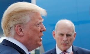 In September, Kelly found himself denying an accusation, reported by Bob Woodward, that he had called Trump an 'idiot'.