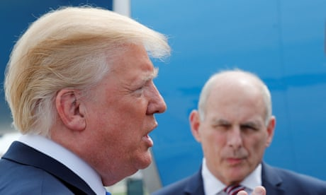 John Kelly shocked staff with speech 'hostile' to Trump, tell-all book reveals