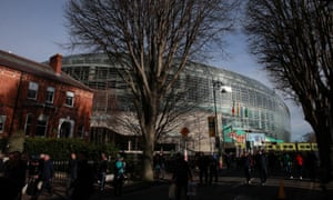 'The very clear view of the public health emergency team was that this game [in Dublin] should not go ahead,' said Simon Harris, the Irish health minister.