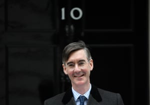 British Conservative Party MP Jacob Rees-Mogg.