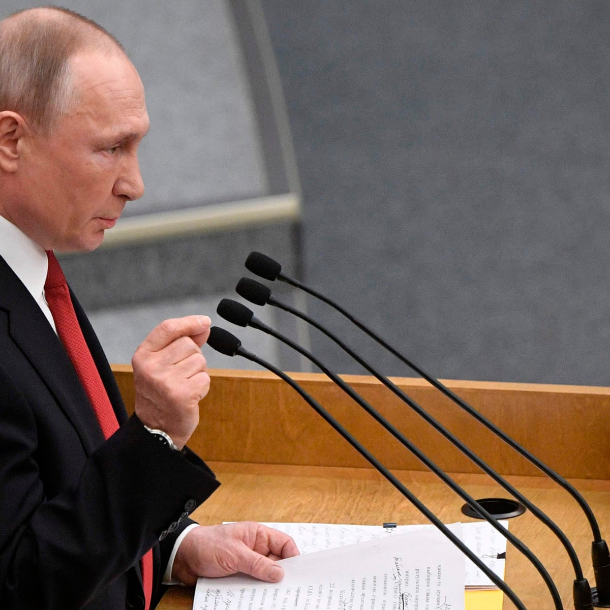 Putin Backs Proposal Allowing Him To Remain In Power In Russia Beyond 2024 Vladimir Putin The Guardian