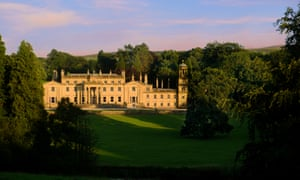 Broughton Hall stately home in Yorkshire.