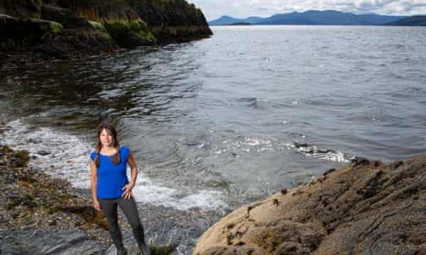 Tamsin Calidas on her Scottish island.