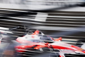 Nick Heidfeld of Mahindra Racing takes part in qualifying for round 10