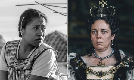 Front runners ... Roma and The Favourite.