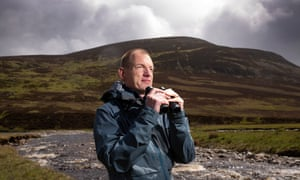 David Frew, property manager at Mar Lodge, is aware rewilding can take 200 years to realise.