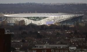 Tottenham Hotspur's new stadium in north London