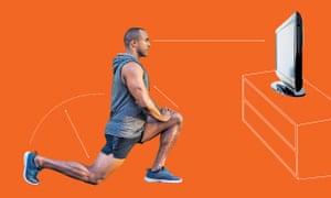 Lunges in front of the TV is a way of incorporating conscious movement into every area of our lives.