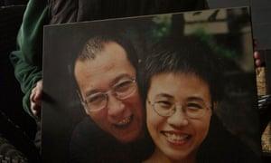 Liu Xia and Liu Xiaobo