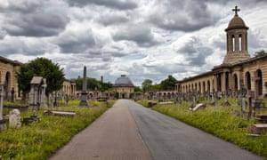 Brompton Cemetery.