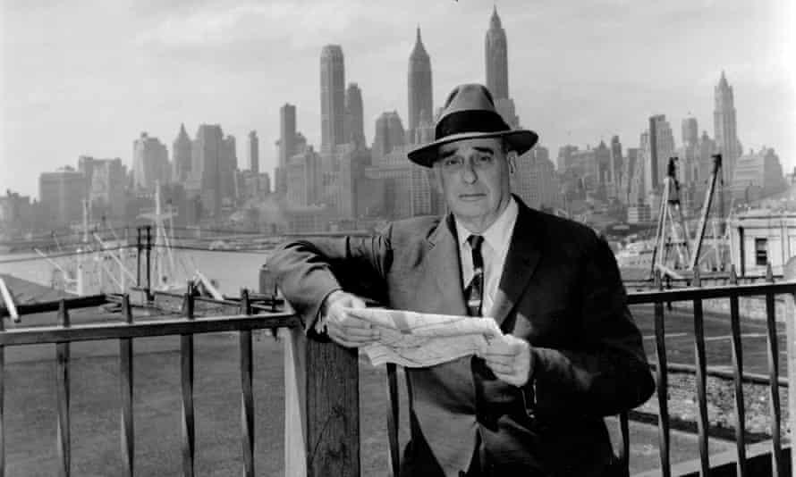 Robert Moses in Brooklyn, 1956