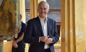 Malcolm Turnbull visits Wat Sisaket in Vientiane, Laos