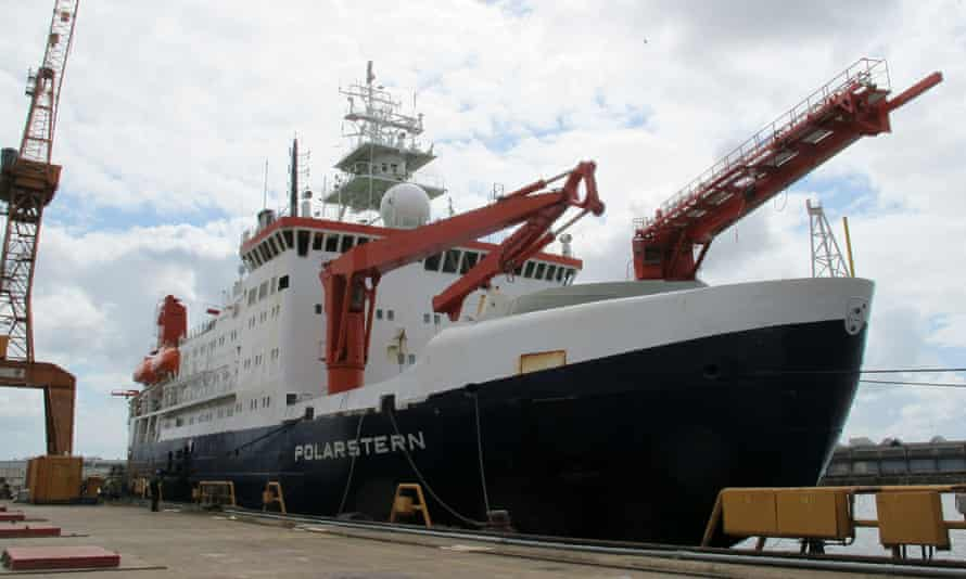 The German Arctic research vessel Polarstern