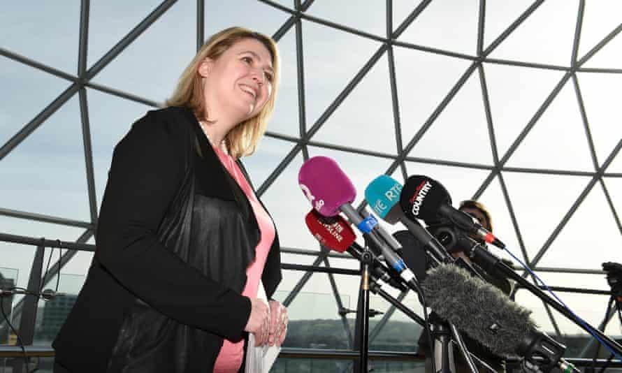 Karen Bradley in Belfast