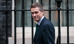 Defence Secretary Gavin Williamson in Downing Street this month.