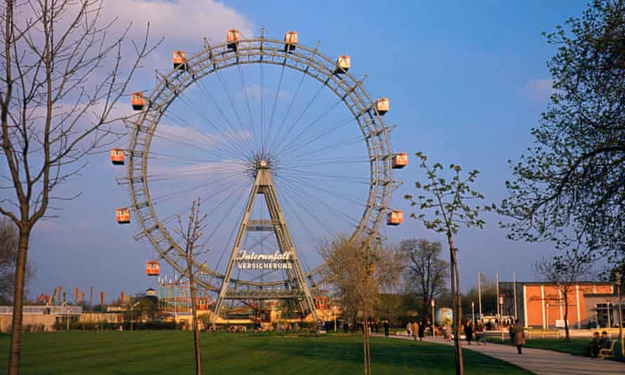 The incident took place in Vienna's popular Prater Park.