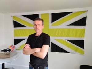 Dale Vince at the HQ of green energy firm Ecotricity's HQ in Stroud, Gloucestershire.