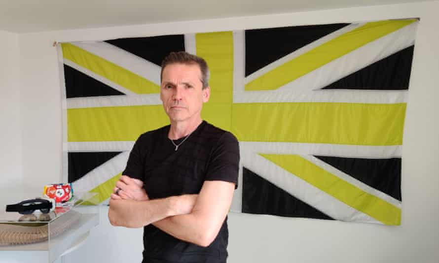 Dale Vince at the HQ of green energy firm Ecotricity.