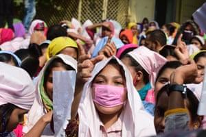 Dhaka, Bangladesh Garment workers