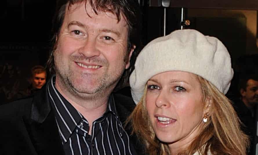 Kate Garraway pictured with her husband, Derek Draper, in 2008.