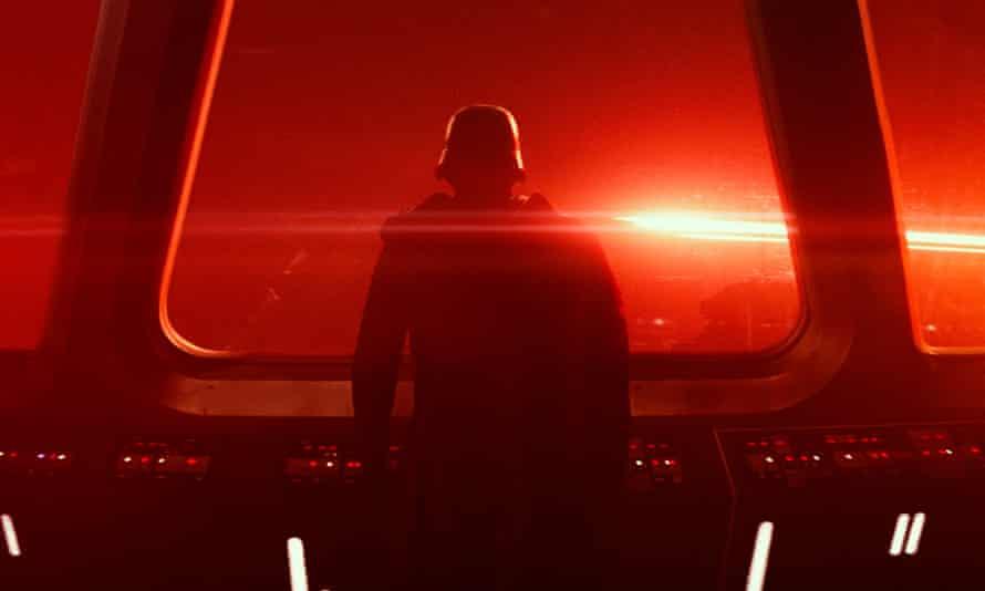 Still burning bright … Star Wars: The Force Awakens.