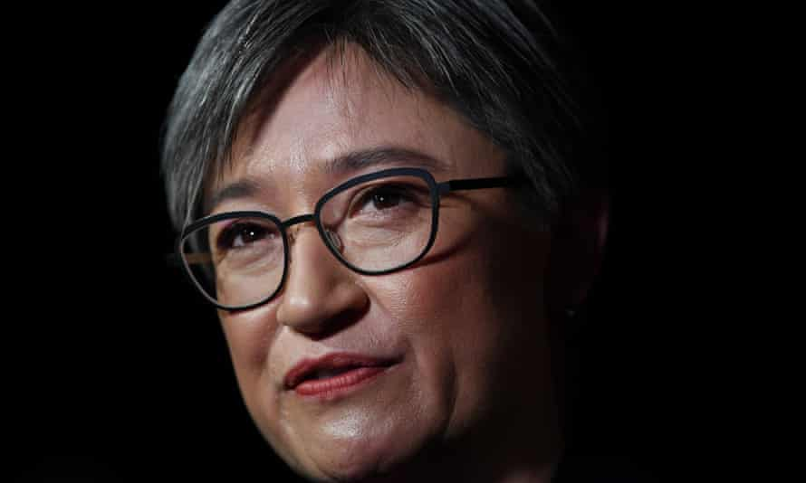 Penny Wong said it was 'incumbent upon Scott Morrison to rule out any Liberal party involvement in the malicious false content that is circulating on WeChat' as part of the 2019 Australian federal election campaign.