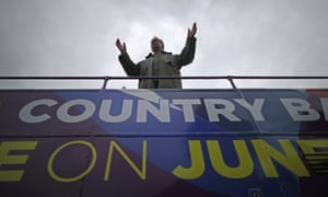 Nigel Farage, the Ukip leader, campaigns in Bolton for votes to leave the European Union.
