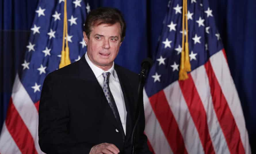 Paul Manafort … former Trump campaign manager has links with powerful oligarchs.