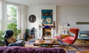Bright drawing room