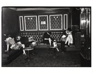 Feathers ball, Hammersmith Palais, London. December 1981