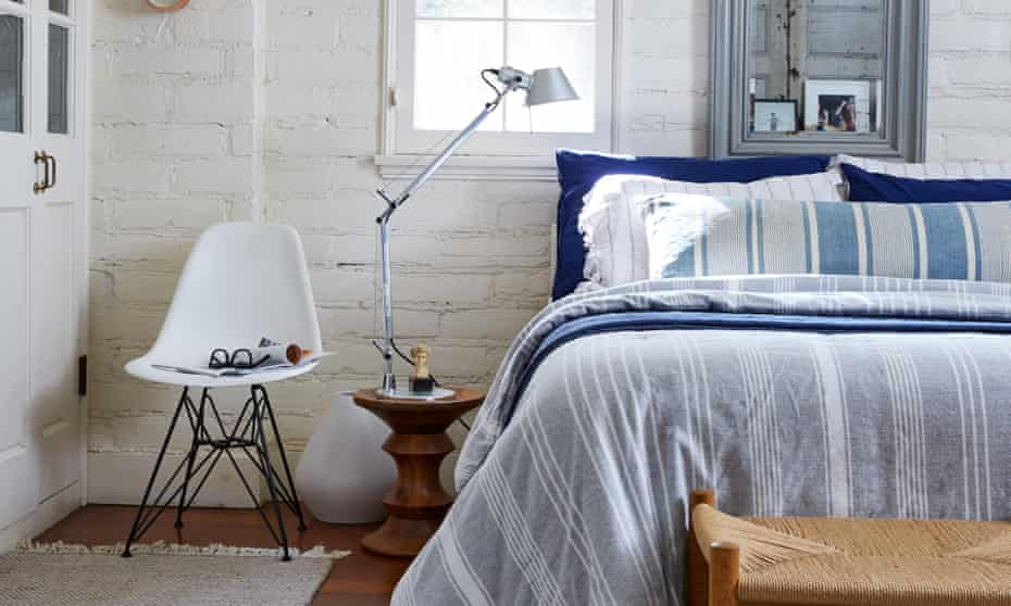 One of the bright and airy bedrooms.