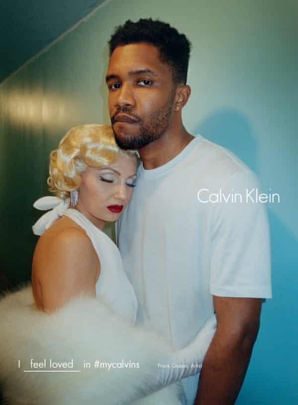 Frank Ocean Calvin Klein advert