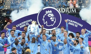 It's official: Manchester City are champions.