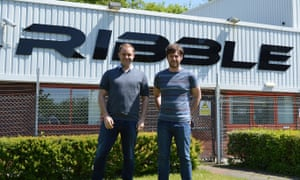 Ciaran Fegan and Jon Owen Ribble Cycles