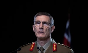 Chief of the defence force General Angus Campbell