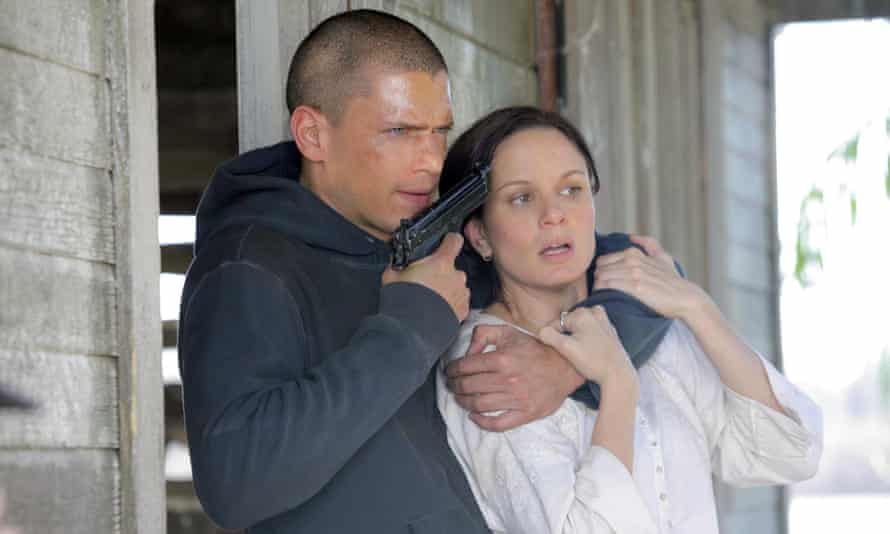 A terrible, terrible show that I have watched every second of … Prison Break.