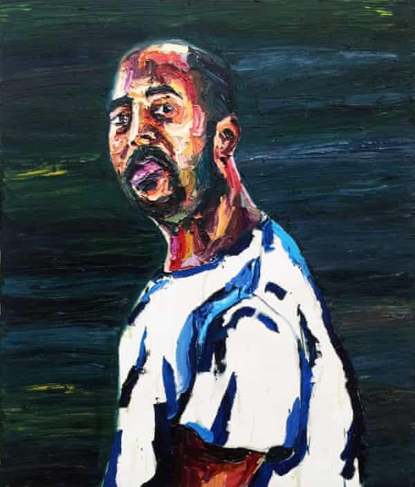 Untitled self portrait by Myuran Sukumaran, 2015.