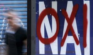 Oxi graffiti, Athens