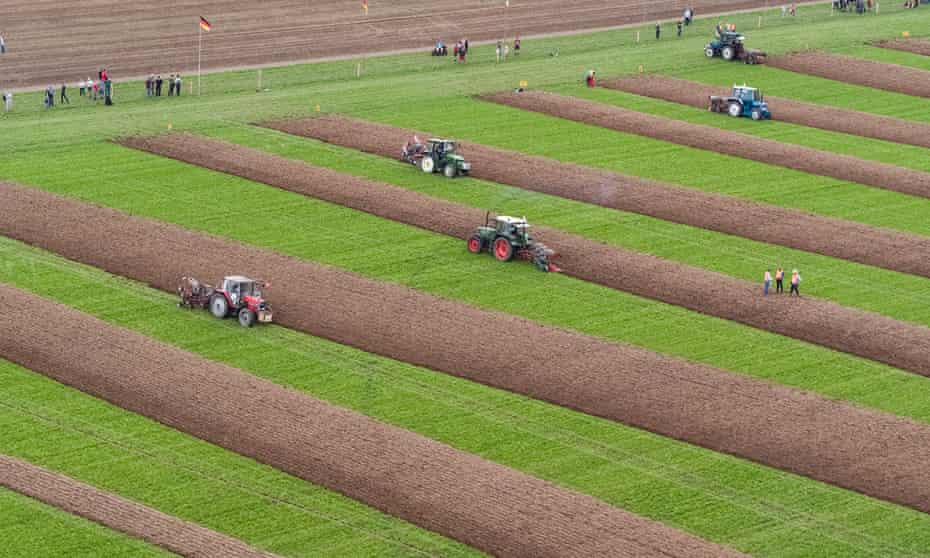 The European Ploughing Championships 2018, which were held in St Truiden, Belgium in August.